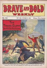 Animal suit dime novel (steammanofthewest) Tags: mullah 1909 animalsuit dimenovel braveandbold weldonjcobb