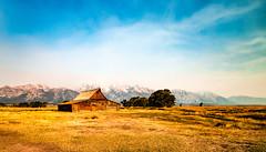 Moulton Barn- (Cathy Donohoue) Tags: mountains grandtetonsnationalpark mormonrow moultonbarn