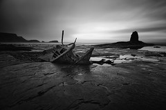 The Wreck and the Nab (aveyardphotography) Tags: black bay shipwreck whitby nab saltwick