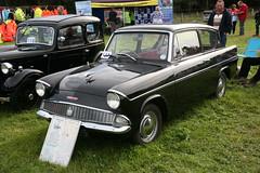 1960 Ford Anglia 105E (grobertson4) Tags: show classic ford vintage vehicle anglia 105e roseisle laighomoray