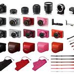 レンズ交換式 アドバンストカメラの写真