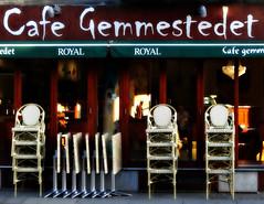 Caf Gemmestedet (Jaedde & Sis) Tags: morning caf stacked fascade unanimous challengefactorywinner thechallengefactory gemmestedet