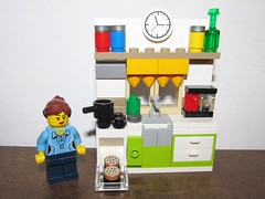 LEGO Minifigure Baking Homemade Cookies (Pest15) Tags: kitchen cookies lego bakingcookies legominifigure homemadecookies nationalhomemadecookiesday