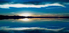 River Blue (scrimmy) Tags: sunset water clouds reflections river outdoors scotland rivertay dundee