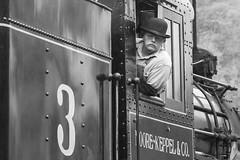 2015-10-03 1058 Moore-Keppel No.3, Durbin, WV (jimkleeman) Tags: steam dgv climax
