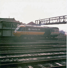 43054 Derby (British Rail 1980s and 1990s) Tags: train pc br rail railway loco trains 80s locomotive passenger 1980s britishrail intercity 43 hst livery mainline lmr highspeedtrain mml class43 intercity125 ic125 midlandmainline 43054 powercar londonmidlandregion locohauled liveried