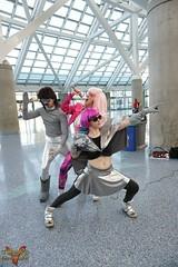 Comikaze 2015 (V Threepio) Tags: girl costume outfit geek cosplay posing xmen marvel comicconvention unedited theflash dazzler comikaze2015