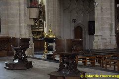 olv_over_de_dijlekerk_12 (Jolande, kerken fotografie) Tags: belgie belgi ramen kerk mechelen glasinlood orgel architectuur jezus kruis vlaanderen preekstoel altaar olvoverdedijlekerk