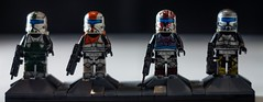 Delta Squad (V5) (BrikSmith Customs) Tags: boss star republic lego delta sev wars squad custom clone commando customs scorch fixer clonearmycustoms rc1138 rc1207 rc1140 briksmith rc1262