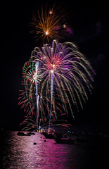 July 4th Fireworks 2016. (jlucierphoto) Tags: fireworks july4th explosions colors america hingham massachusetts