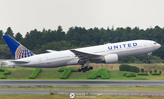 United Airlines B777-200 NRT/RJAA (Henry Tsui Aviation Photography) Ta