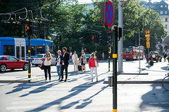 Evening Light (Ennae) Tags: street light sunset nikon crossing sweden stockholm schweden rim tamron f28 2015 1750mm d7100 nonvc schweden2015