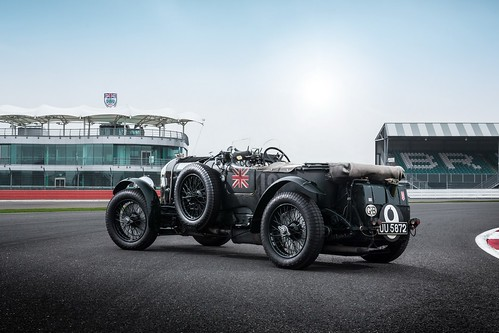 Bentley Continental GT3 and Blower