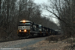 NS 6928 EMD SD60E (37T) (Trucks, Buses, & Trains by granitefan713) Tags: train ns locomotive freighttrain norfolksouthern manifest emd mixedfreight sunburyline emdsd60 sd60e emdsd60e