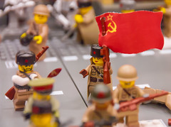 Operation:  Brickarossa (SEdmison) Tags: lego russia military battle worldwarii convention ww2 russians germans stalingrad 2015 easternfront brickcon operationbrickarossa brickarossa brickcon2015