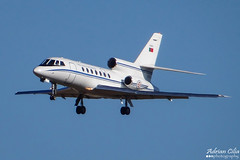 Portugal Air Force --- Dassault Falcon 50 --- 17403 (Drinu C) Tags: plane aircraft aviation sony falcon 50 dsc mla dassault bizjet privatejet 17403 portugalairforce lmml hx100v adrianciliaphotography