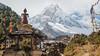 The View the Other Way isn't Bad Either (Andrew Luyten) Tags: nepal mountain stupa buddhism himalaya lho gompa manaslu westernregion manaslucircuit mountainkingdoms 8156m
