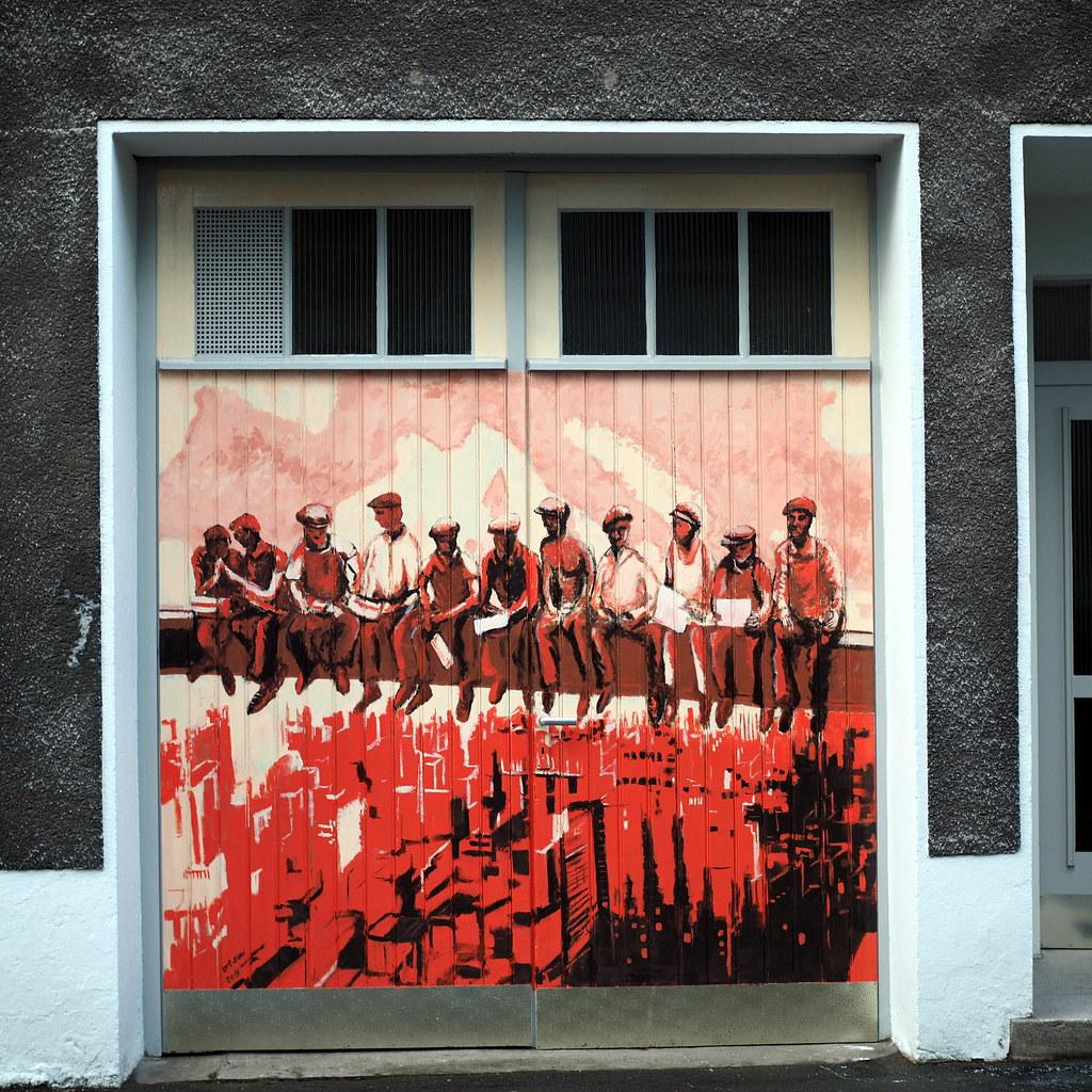 Wonderful Kreuzviertel_23 (Kurrat) Tags: Dortmund Ruhrgebiet Graffiti Garage Tor  Garagentor Kreuzviertel Streetart