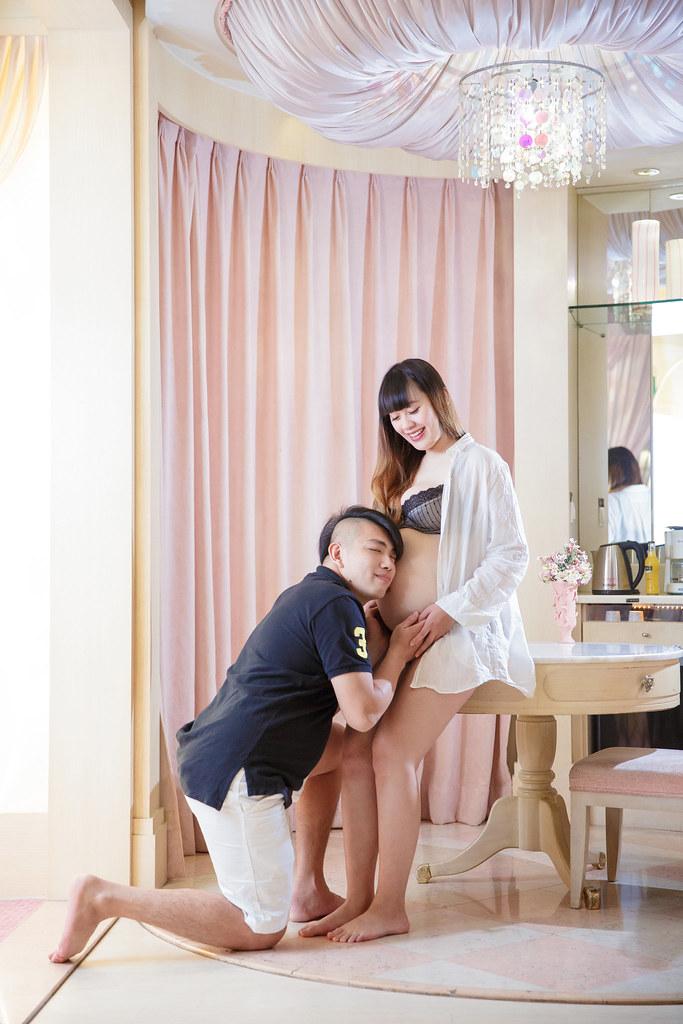 孕婦寫真,孕婦攝影,旅館孕婦,眷村孕婦,阿財&小八024