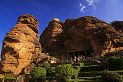 Badami Caves (Vamshi Krishna S) Tags: india caves karnataka badami chalukya aihole pattadakal chalukyas