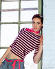 Sara (Joe Barrett Photography) Tags: pink woman usa sexy philadelphia girl beautiful catchycolors 50mm model nikon sara stripes gorgeous goddess nj philly nikkor 50mmf18d nikondigital catchycolorsblue catchycolorspink flickrsbest eoshe yourbestoftoday