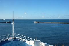 Leaving Rdby (Silva_D) Tags: rdby frja ferry harbour hamn pir pier denmark danmark