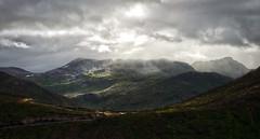 Landscape near Gryllefjord 1 (Bilderschreiber) Tags: mounatins clouds berge wolken sun sonne licht landscape landschaft gryllefjord norway north norge norwegen