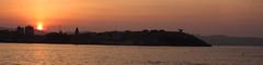 Orange (planosdeluz) Tags: gijn sunset orange silhouettes sun sea san pedro silueta canon 60d tanrom1750 atardecer