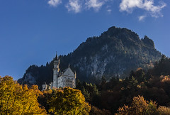 Bavaria-1 (Davey6585) Tags: europe travel wanderlust bavaria bayern germany deutschland fall color trees schwangau canon canont2i neuschwanstein schlossneuschwanstein cinderellascastle