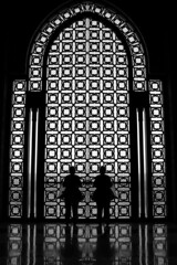 The Doors (David K. Edwards) Tags: doors decorated mosque casablanca reflection moroc hassanii jimmorrison huxley