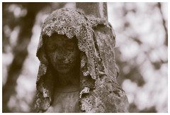 (Barbara.K) Tags: monochromatic statue woman soft dof differentialfocus depthoffield alienskinexposure