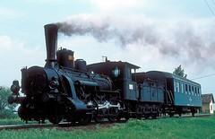 326 267  Konja  01.07.79 (w. + h. brutzer) Tags: konja 326 ungarn eisenbahn eisenbahnen train trains railway dampflok dampfloks steam lokomotive locomotive zug mav hungaria kisterenye webru analog nikon
