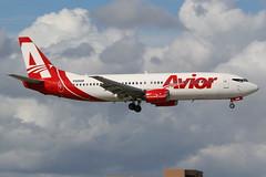 YV2928 MIA 21-11-2013 (Plane Buddy) Tags: yv2928 boeing 737 737400 avior miami kmia