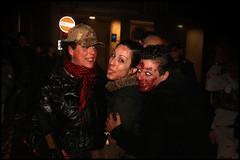 Apocalypse girls (cicciobaudo) Tags: ragazze cosplay zombiewalk codigoro zombie cacciatrice horror