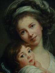 VIGE-LE BRUN Elisabeth,1786 - Portrait de l'Artiste avec sa Fille, La Tendresse maternelle (Louvre) - Detail -e (L'art au prsent) Tags: art painter details dtail dtails detalles painting paintings peinture peintures 19th 19e peinture19e 19thcenturypaintings 19thcentury detailsofpainting detailsofpaintings tableaux personnage figure figures people personnes portrait elisabethvigelebrun elisabeth vigele brun aristocrate aristocrat aristocratie aristocracy noblesse nobility femme woman beauty beaut lgant elegant elegantwoman robe dress dresses young jeune jeunesse youth louvre paris france portraitdelartisteavecsafille latendressematernelle julie daughter fille family littlegirl girls littlegirls petitefille jeunefille girl fillette female autoportrait selfportrait
