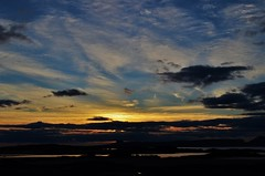 Sunset over Isle of Eigg and Rum (Maia MacGilp) Tags: sunset eigg scotland rum