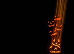 front porch stack (pbo31) Tags: livermore california jackolantern halloween holiday pleasanton eastbay alamedacounty bayarea black night dark october 2016 fall boury pbo31 pumpkin frontporch color trickortreat orange lightstream motionblur motion