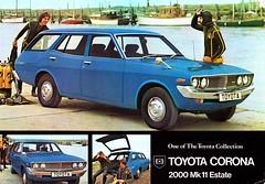 RX28 TOYOTA CORONA MARK 2 2000 ESTATE (celicacity) Tags: rx28 toyota corona mark 2 2000 estate tgb10917350 brochure 1973 wiston service station