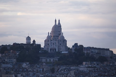 NH0A0562s (michael.soukup) Tags: paris france francais montmartre sacrecoeur sacredheart church basilica skyline bluehour sunset