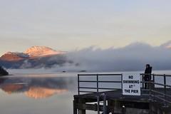Misty Luss (Anne Young2014) Tags: scotlandfromtheroadside visitscotland scotspirit scotland loch pier lochlomond luss