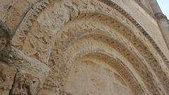 DSCF0104 glise Saint-Jacques d'Aubeterre-sur-Dronne (Charente) (Thomas The Baguette) Tags: aubeterresurdronne charente france monolith cave church tympanum glise glisenotredame saintjacques caminodesantiago sexyguy chateau cloister minimes mithra mithras cult