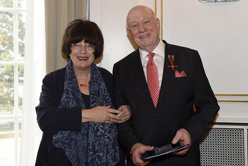 Verdienstkreuz am Bande für Werner Schmoll