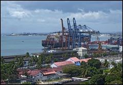 Port de Salvador (wilphid) Tags: salvador bahia brasil brsil cidadebaixa btiments architecture port funiculaire