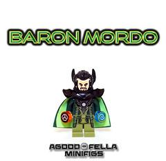 Baron Mordo [MOC] [COMICS] (agoodfella minifigs) Tags: lego marvel marvellego legomarvel minifigures marvelcomics comics heroes marvelheroes superheroes doctorstrange stephenstrange clea baronmordo theancientone defenders custom customs customminifigures minifigure