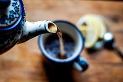 Take a minute to appreciate something good (ewitsoe) Tags: nikon tea 50mm ewitsoe poznań poland herbata herbal drink boleslawicz
