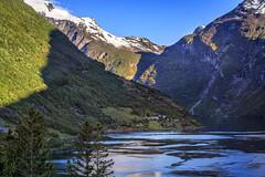 070803_CB_1067 (aud.watson) Tags: europe norway sunnmoreregion geirangerfjorden fjord waterfalls water mountains geiranger dawn