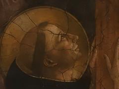 FRA ANGELICO,1440-45 - Le Calvaire (Louvre) - Detail 64 (L'art au prsent) Tags: art painter details dtail dtails detalles painting paintings peinture peintures 15th 15e peinture15e 15thcenturypaintings 15thcentury detailsofpainting detailsofpaintings fresque fresco moyenge middleage louvre guidodipietro fraangelico adoration worship bible croix cross prire prayer saint bless sacred holy blessed figure personne people femme femmes woman man men crucifixion calvaire montcalvary pain suffering giovannidafiesole fiesole giovanni