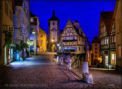 The Plönlein - Rothenburg (Maclobster) Tags: plönlein rothenburg ob der tauber germany walled city medieval