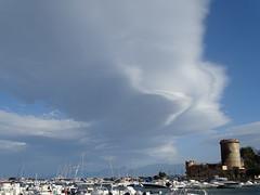 \) (RoBeRtO!!!) Tags: rdpic blue sky white clouds tower castle architecture boat harbor cielo azzurro nuvola bianca torre castello architettura barca porto sannicolalarena sicily sonyhx400v