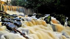 Crumlin Glen Waterfall (Gerard Joseph Christopher) Tags: ireland irish celtic crunlin glen waterfall county antrim autumn landscape colours guinness ruver magical river